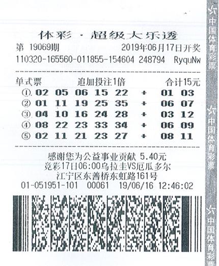 万博manbetx官网网页版大乐透19069期南京119万.jpg